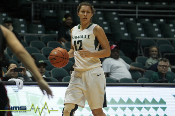 NCAA Women's Basketball: Hawaii Rainbow Wahine vs Hawaii-Hilo Vulcans