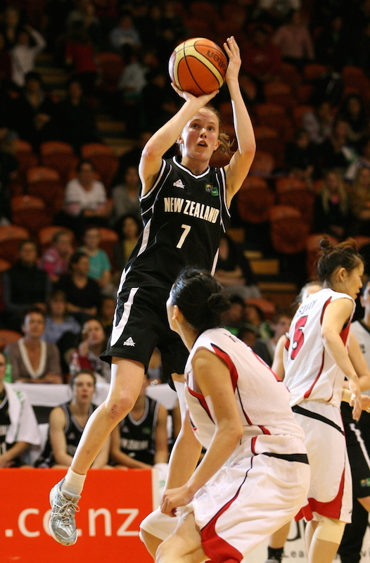 Basketball - Tall Ferns v Japan, 27 August 2009