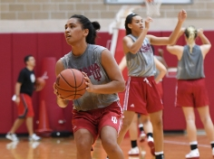 Women's Basketball, first week of practice, new assistant coaches, 10/06/16_Mike Dickbernd
