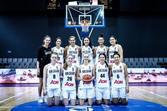NZ U17 team