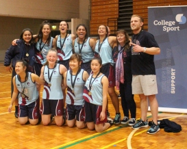 Botany Downs College Senior A Girls Winners