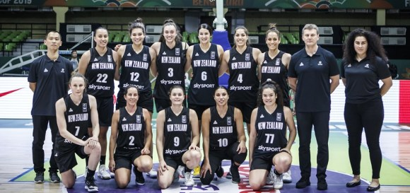 Tall Ferns at 17 Asia cup